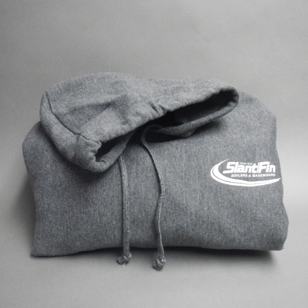 Sweatshirt-Pullover Hoodie- folded with hood